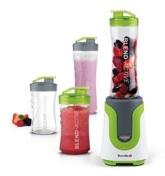 BARGAIN Breville Blend-Active Personal Blender Family Pack in White and Green NOW £29.99 delivered at Amazon - Gratisfaction UK