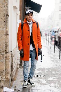 Men's Fashion Week by Melodie Jeng in Dossier
