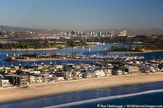 Page by Ron Niebrugge - Aerial Photos of Mission Beach and Mission Bay, San Diego, California