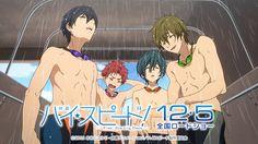 High Speed! Free! Starting Days - 10. Special Trailer veröffentlicht - http://sumikai.com/mangaanime/high-speed-free-starting-days-10-special-trailer-veroeffentlicht-81812/