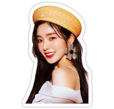 """Red Velvet - Irene"" Stickers by joetato Pop Stickers, Macbook Stickers, Tumblr Stickers, Wendy Red Velvet, Red Velvet Irene, Aesthetic Stickers, Friends Tv, Kpop Fanart, Kpop Aesthetic"