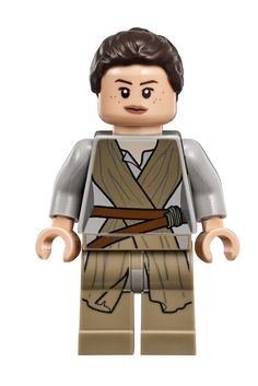Amazon.com: LEGO Star Wars - Rey minifigure from 75099.: Toys & Games