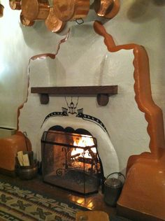 Mary Colter was a stickler for design. You will find her touch in the fireplaces of La Fonda Hotel in Santa Fe, New Mexico