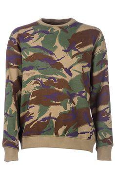 Maharishi 8018 Woodland Camo Sweatshirt