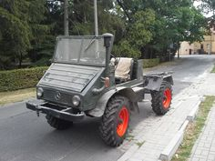 Unimog 411 from Greece
