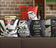 Star Wars Movie Poster Cushion Covers 45x45cm