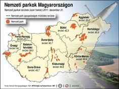 Nemzeti parkok területe Magyarországon, ezer hektár (2011. december 31.) Magyarországi Nemzeti Park IgazgatóságokMTI Environmental Studies, Nature Study, Homeschool, Science, Education, Learning, Kids, Graduation, Dune
