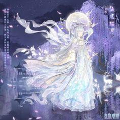 Fille Anime Cool, Anime Girl Cute, Anime Art Girl, Fantasy Princess, Anime Princess, Dream Fantasy, My Fantasy World, Anime Girl Dress, Really Fun Games