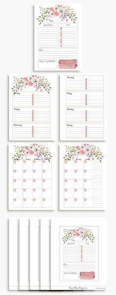 Home decoration is one of the most important elements that help you to define the… Planner A5, Blog Planner Printable, Weekly Planner, Free Printables, Bujo, Journal Organization, Diy Organisation, Bullet Journal Ideas Pages, 2021 Calendar
