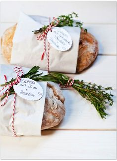 Homemade Chiabatta breads fresh herbs Christmas gifts ideas ToniKami ℬe Meℜℜy serendipity-blog.de