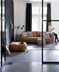 Sofa + pillows