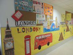 English Classroom Decor, Classroom Themes, Primary English, Teaching English, Class Decoration, School Decorations, English Time, English Uk, Book Character Day