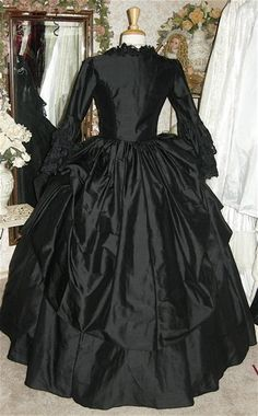 Gothic Victorian Steampunk Wedding Gown