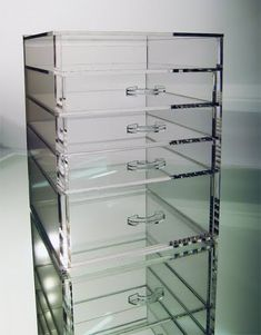 love this for makeup storage