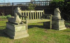 What horse lover wouldn't want this pair of wonderful statues in their garden or on their terrace.