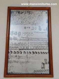 Códice de Huetámo, copia que se muestra en la Exposición Códices y Lienzos de Michoacán, en el Museo de Artes e Industrias Populares de Pátzcuaro.