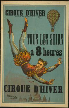 Vintage Circus Poster CIRCUS0014 Art Print A4 A3 A2 A1 | eBay