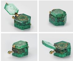 of the most important items from the Cheapside Hoard is this large Colombian emerald pocket watch, circa Watches first appeared in England around and Colombian emeralds reached Europe by the late Ancient Jewelry, Antique Jewelry, Vintage Jewelry, Vintage Art, Bijoux Design, Jewelry Design, Columbian Emeralds, London Museums, Emerald Jewelry