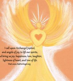Prayer for Archangel Jophiel - Ask An Angel - Connect With Your Angels