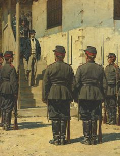 """""""The Spy""""  Painted by Vasily Vereshchagin as part of his series on the Russo-Turkish War (1877-8)."""