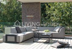 Diphano Landscape aanpasbare koffietafel #LIVINGshop #stijlvolwonen #outdoorliving Outdoor Sectional, Sectional Sofa, Outdoor Furniture Sets, Outdoor Decor, Lava, Outdoor Living, Landscape, Shop, Home Decor