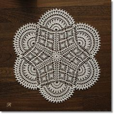 love this antique pattern doily!
