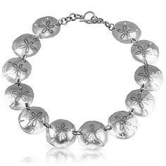 Sand Dollar Necklace : Gogo Jewelry #Silver #Jewelry