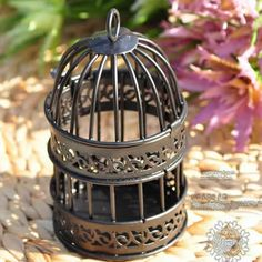 suporte de vela de casamento gaiola de pássaro decorativas / decoração de mesa bar decoração castiçal / candelabro 10.50