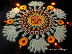 Rangoli by Umarajas vibgyor