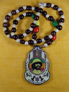 I and I Rasta Medallion