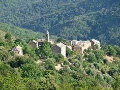 Photos paysages Corse village de ZUANI (ampriani_couvent)