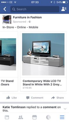 Mobile Tv Stand, Online Mobile, Contemporary, Furniture, Shopping, Home, Ad Home, Home Furnishings, Homes