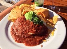 Fine Dining at The Rooftop Lounge. Huevos Rancheros. (not an original RE/MAX Evolution picture) For more information: http://www.yelp.com/biz/the-rooftop-lounge-laguna-beach