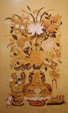 제6회 대한민국 전통채색화 공모대전 입상작과 특별 초대작가전 : 네이버 블로그 Korean Painting, Creative Pictures, Chrysanthemum, Art For Kids, Rooster, Folk, Flowers, Animals, Design