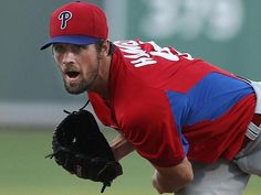 HAPPY OPENNING DAY 2013!!! GO PHILLIES!!! Phillies pitcher Cole Hamels first opening-day start was long time coming