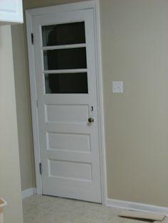 Back door after remodel