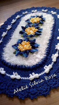 Crochet Tablecloth, Crochet Doilies, Crochet Flowers, Crochet Mat, Crochet Granny, Woolen Craft, Knitting Patterns, Crochet Patterns, Tatting Tutorial
