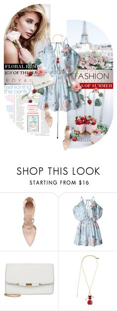 """""""Floral romper"""" by kseniz13 ❤ liked on Polyvore featuring Marni, floral, romantic, pastel and romper"""