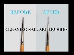How to clean nail brushes