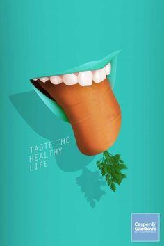 [광고디자인]건강한 맛 : 네이버 블로그