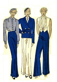 Simplicity 1210 Rare Vintage 30s Menswear by PatternPlaying, $95.00
