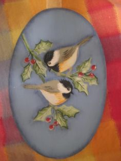 tole painting | chickadees - Decorative & Tole Painting Forum - GardenWeb