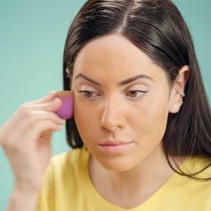 Makeup Mistakes You Are Probably Making Can't believe I am just findin. Rosacea Makeup, Skin Makeup, Clean Makeup, Simple Makeup Tips, Natural Makeup Tips, Natural Summer Makeup, Natural Beauty, Natural Hair, Beauty Make-up