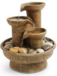 Indoor Fountains Things to Keep in Mind 3 Garden Fountains For Sale, Small Fountains, Indoor Water Fountains, Pond Fountains, Indoor Fountain, Desk Fountain, Bamboo Fountain, Tabletop Fountain, Pool Water Features