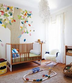 Autumn Nursery Ideas  #homedecor #interior