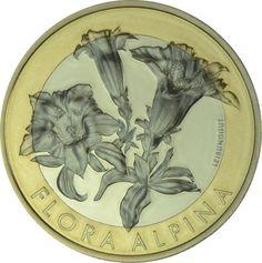 10 Franken CuNi Brauchtum - Enzian UN