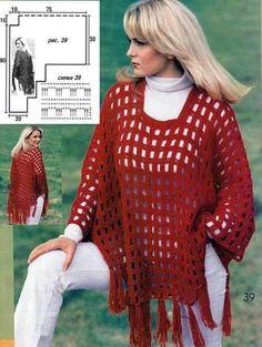 Blusa vermelha