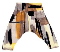 Harem Pants- Brush Stroke