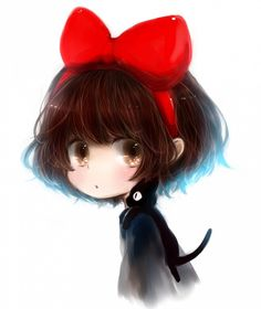 i love studio ghibli films, they make me happy. and since i am new fan, i still have a lot of catching up to do so please feel free to submit everything & anything ghibli! Hayao Miyazaki, Totoro, Kiki Delivery, Kiki's Delivery Service, Studio Ghibli Art, Studio Ghibli Movies, Anime Chibi, Manga Anime, Anime Art