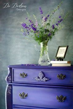 Vintage Furniture Why I'm Not Scared of Bright Colors on a Statement Piece All Wood Furniture, Do It Yourself Furniture, Chalk Paint Furniture, Refurbished Furniture, Colorful Furniture, Repurposed Furniture, Furniture Projects, Furniture Making, Furniture Makeover